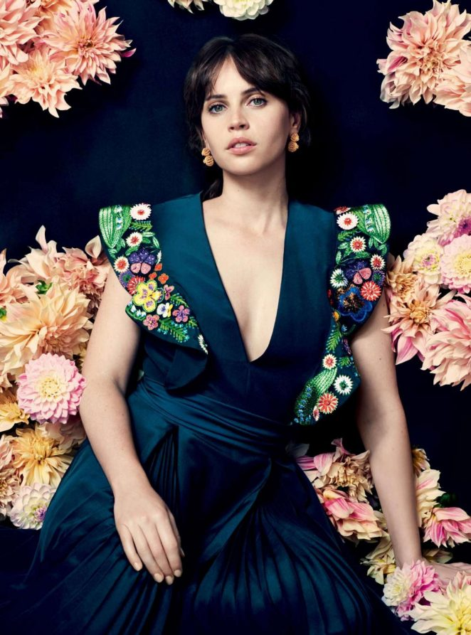 Felicity Jones - Harper's Bazaar Magazine (November 2016)