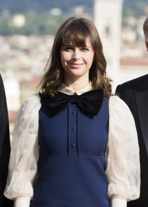 Felicity Jones - 'Inferno' Photocall at Forte di Belvedere in Florence