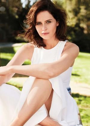 Felicity Jones - Marie Claire Magazine (May 2015)