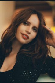 Felicity Jones - Matthew Priestley photoshoot for Bustle - January 2020