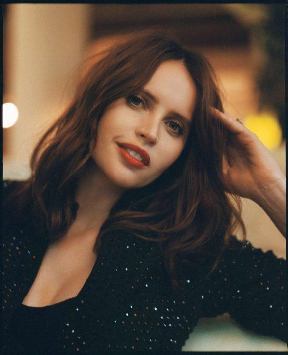 Felicity Jones - Matthew Priestley photoshoot for Bustle - January 2020