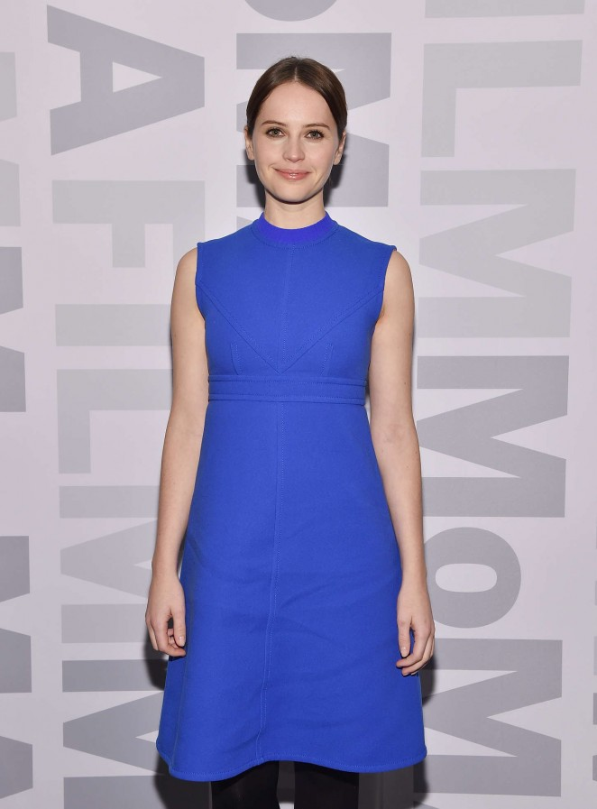"Felicity Jones - MoMA's Contenders Series Screening of ""The Theory Of Everything"" in New York City"