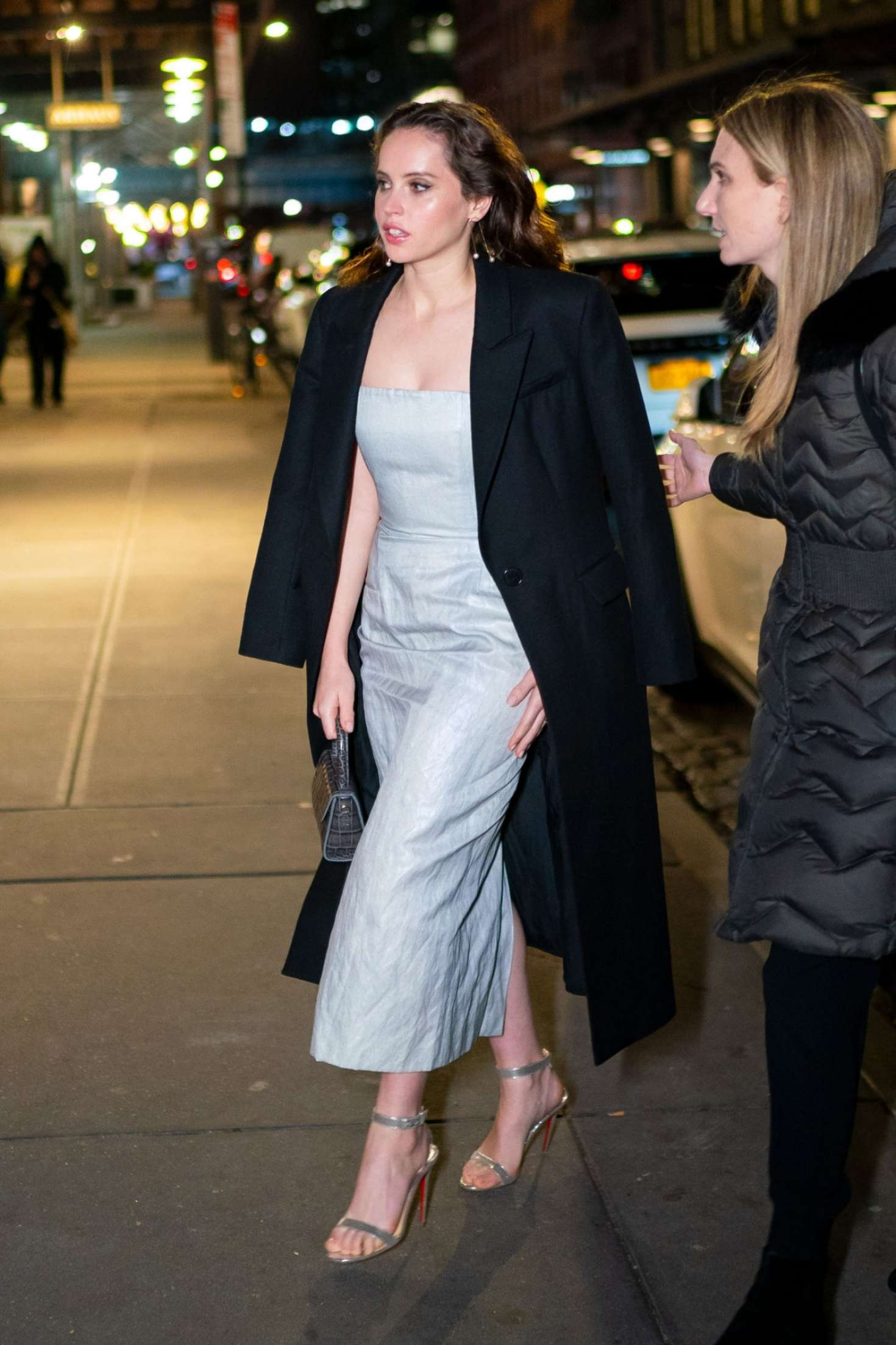 Felicity Jones 2018 : Felicity Jones: Night out in New York City -03