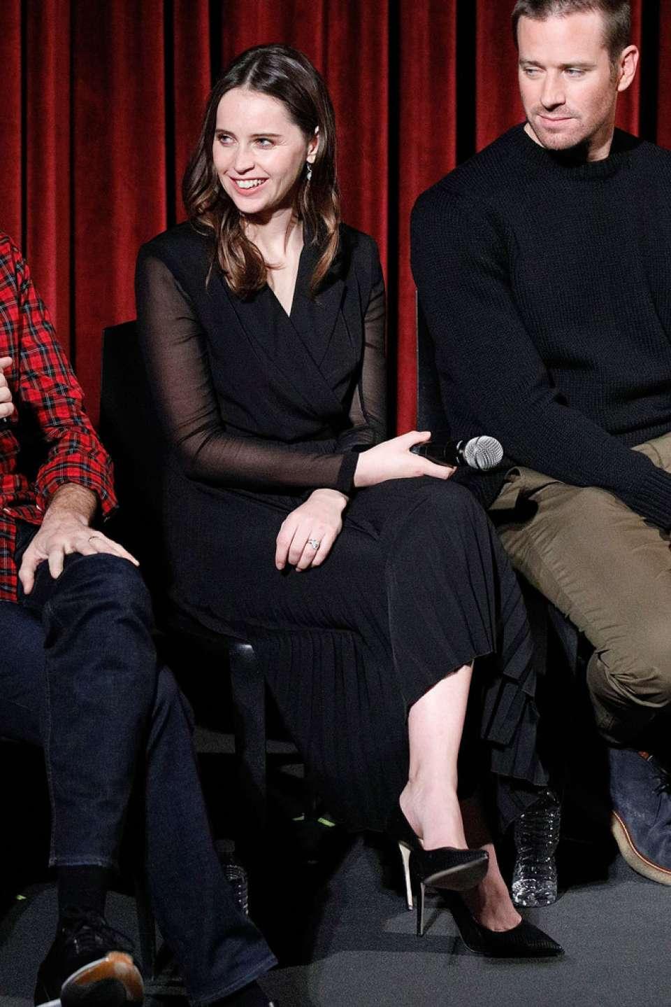 Felicity Jones 2018 : Felicity Jones: Official Academy Screening of On The Basis Of Sex -01