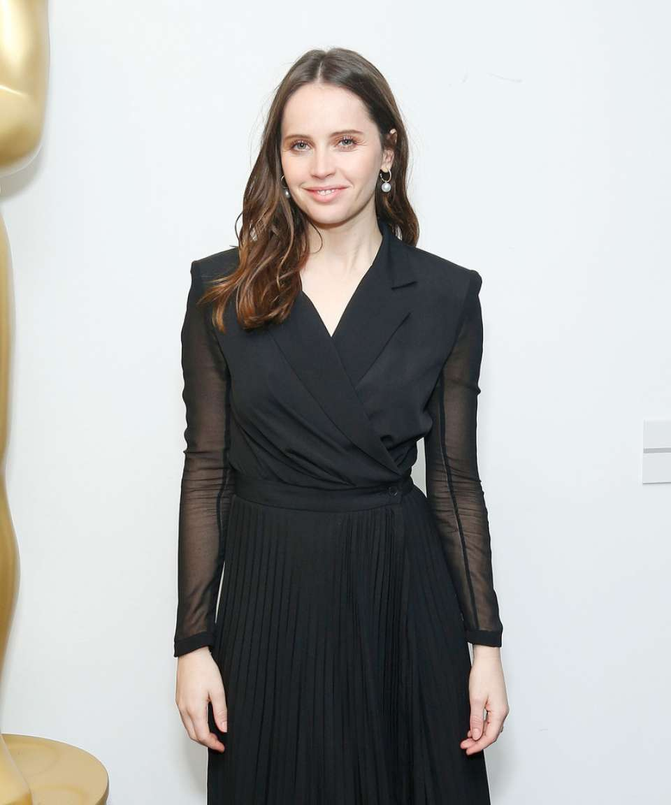 Felicity Jones 2018 : Felicity Jones: Official Academy Screening of On The Basis Of Sex -07