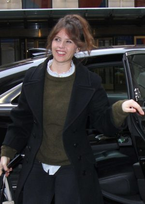 Felicity Jones out and about in New York