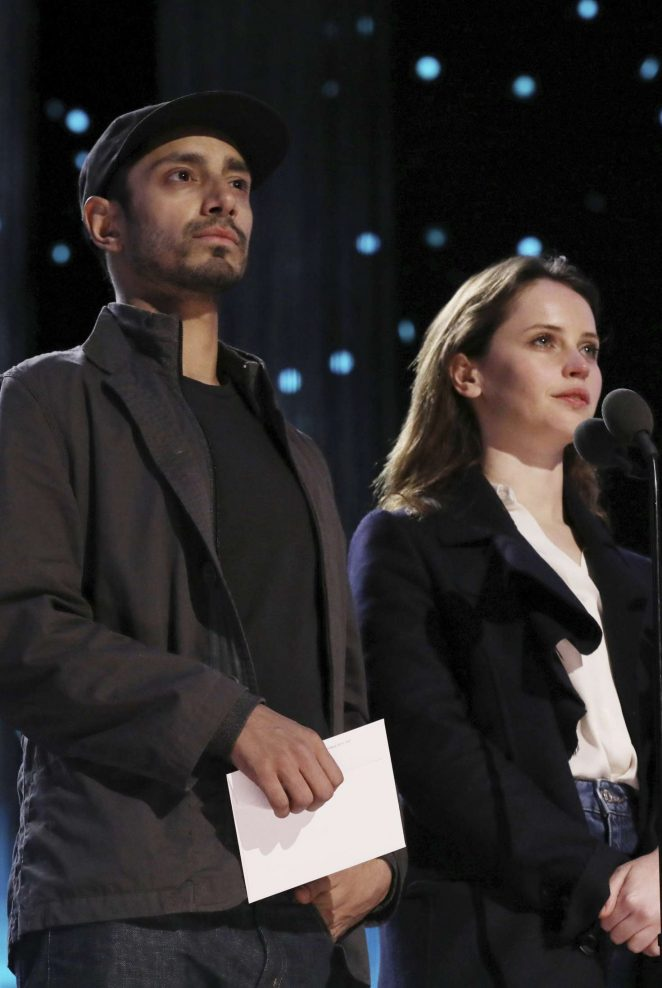 Felicity Jones - Rehearsals for the 89th Annual Academy Awards in LA
