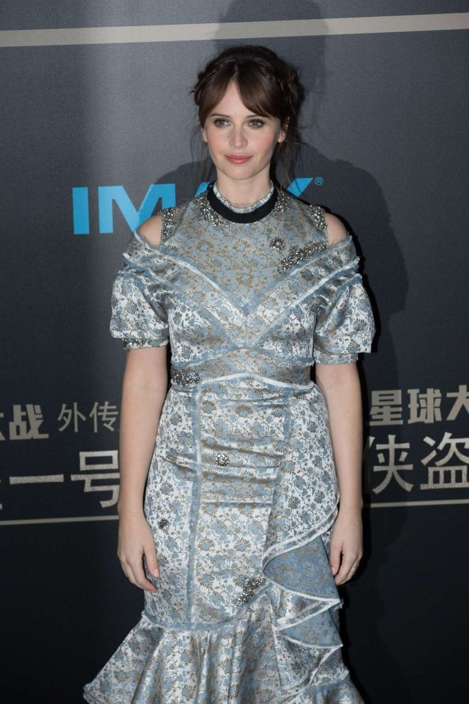 Felicity Jones - 'Rogue One: A Star Wars Story' Premiere in Beijing