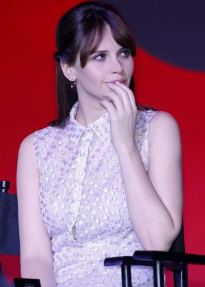Felicity Jones - 'Rogue One: A Star Wars Story' Press Conference in Beijing