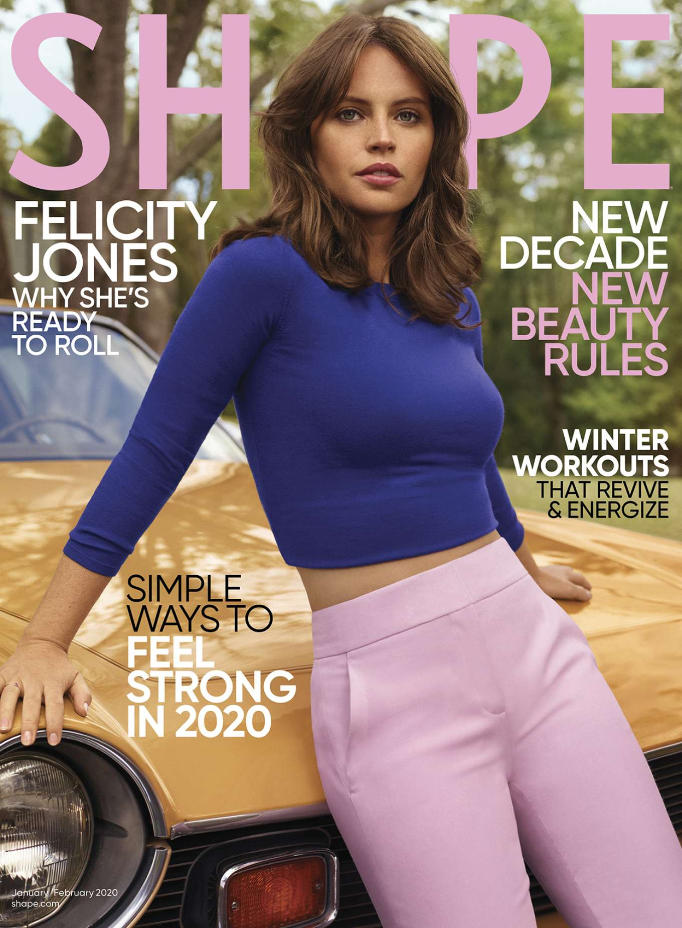 Felicity Jones - Shape US Magazine (January/February 2020)