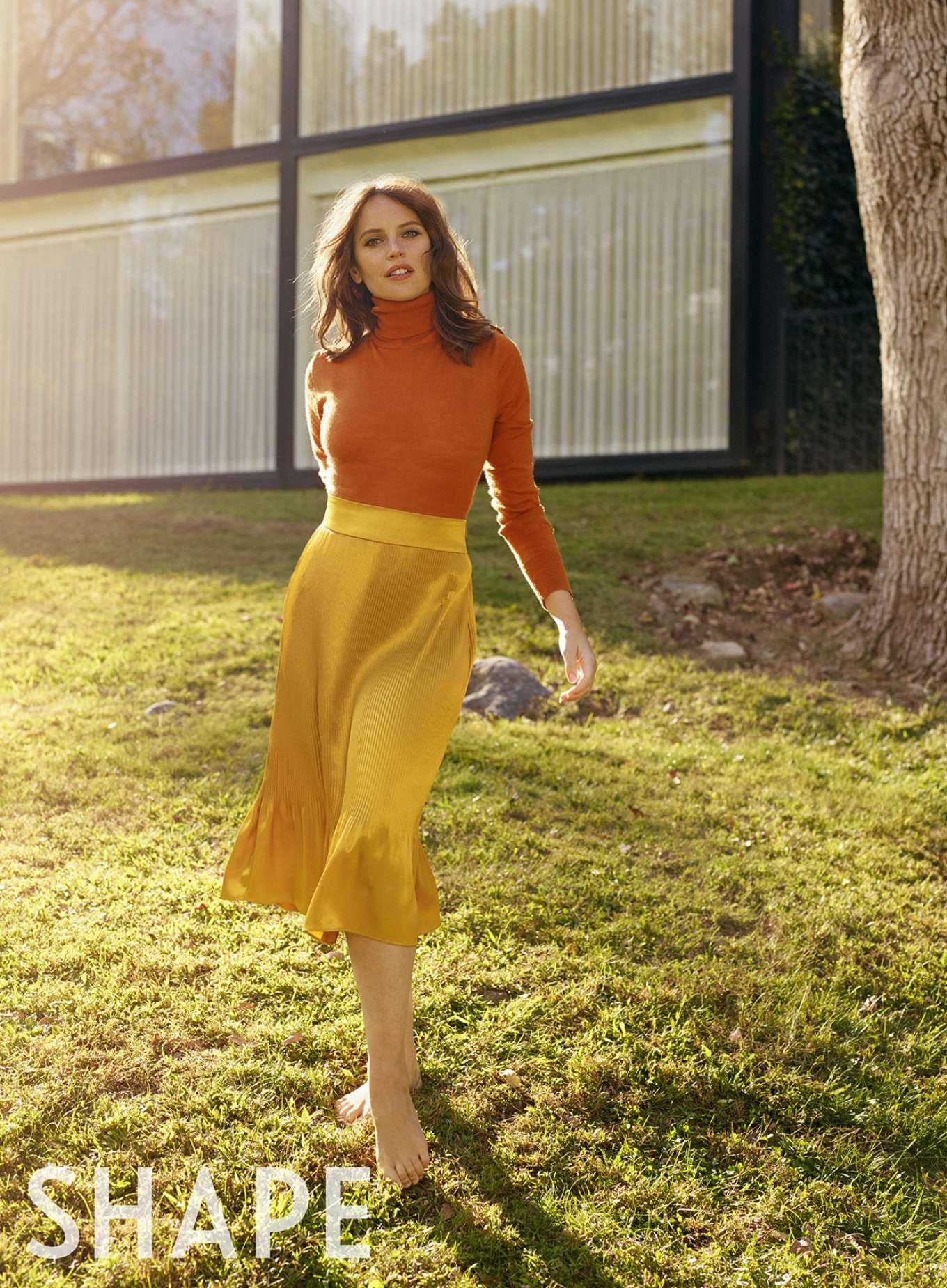 Felicity Jones 2020 : Felicity Jones – Shape US Magazine 2020-02
