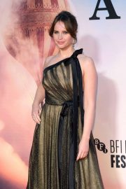Felicity Jones - 'The Aeronauts' Premiere - 2019 BFI London Film Festival