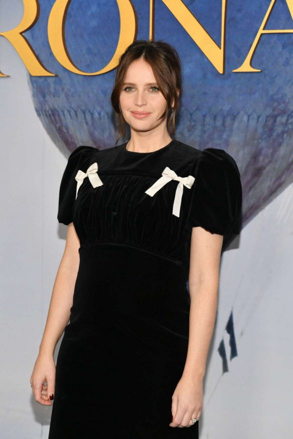 Felicity Jones - 'The Aeronauts' Premiere in New York