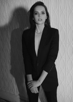 Felicity Jones - The Edit by Net-A-Porter (December 2018)