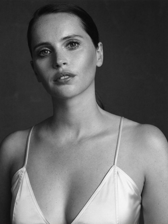 Felicity Jones - The Edit By Net-A-Porter (November 2019)