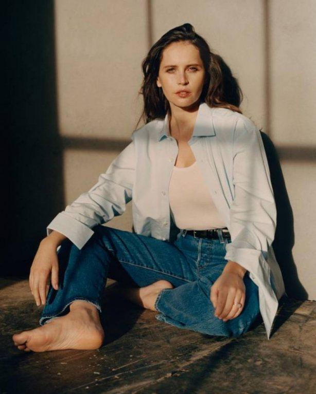 Felicity Jones - The Sunday Times Style Magazine 2020