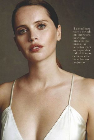 Felicity Jones - Vanidades Magazine Mexico (January 2021)