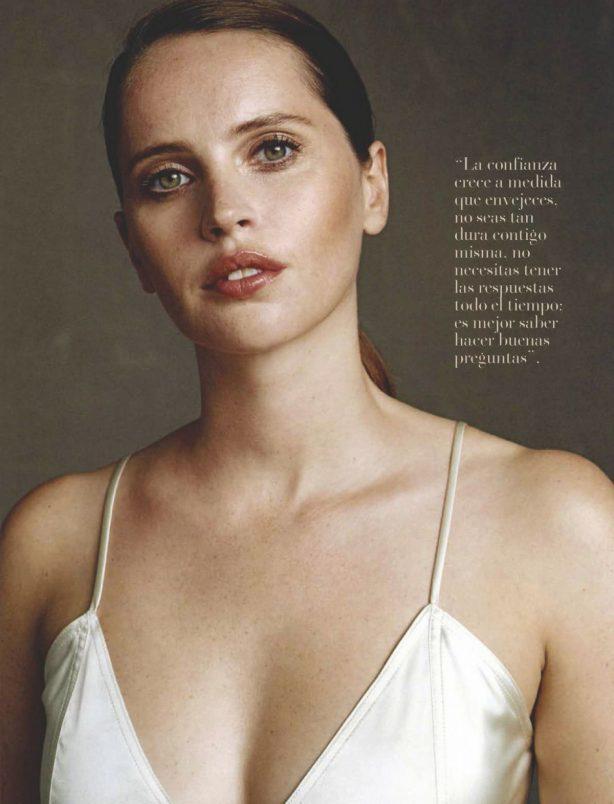 Felicity Jones - Vanidades Magazine Mexico (January 2021)