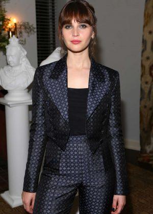 Felicity Jones - Vanity Fair and Burberry host Britannia Pre-Awards Celebration in Los Angeles