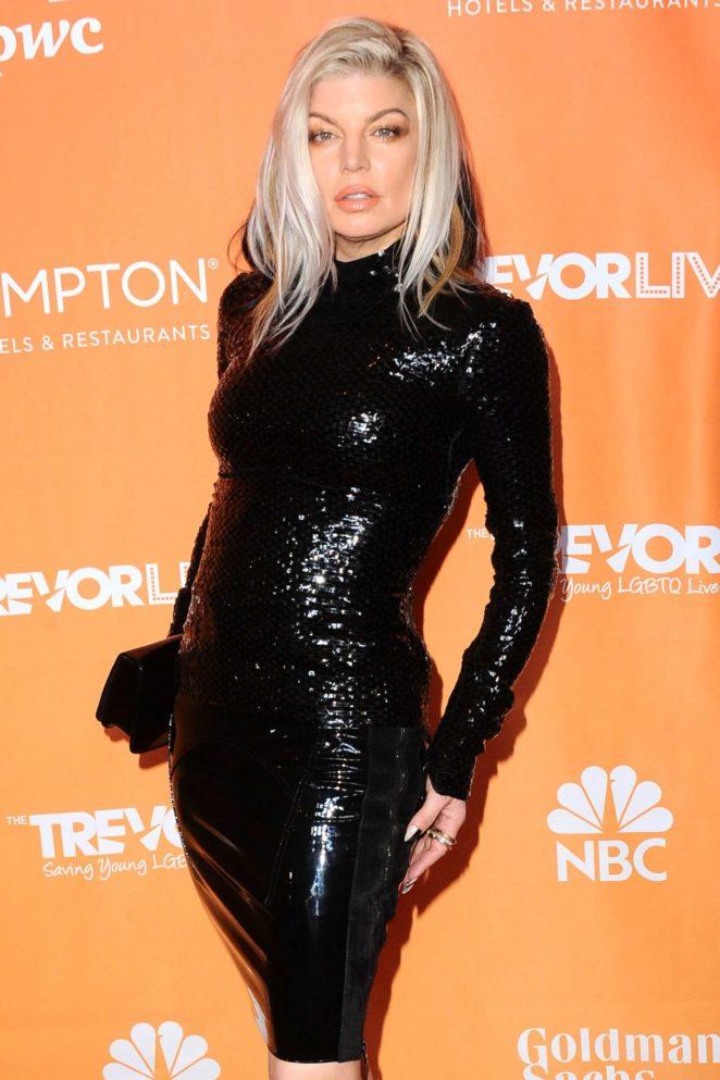Fergie - 2017 TrevorLIVE Fundraiser in Los Angeles