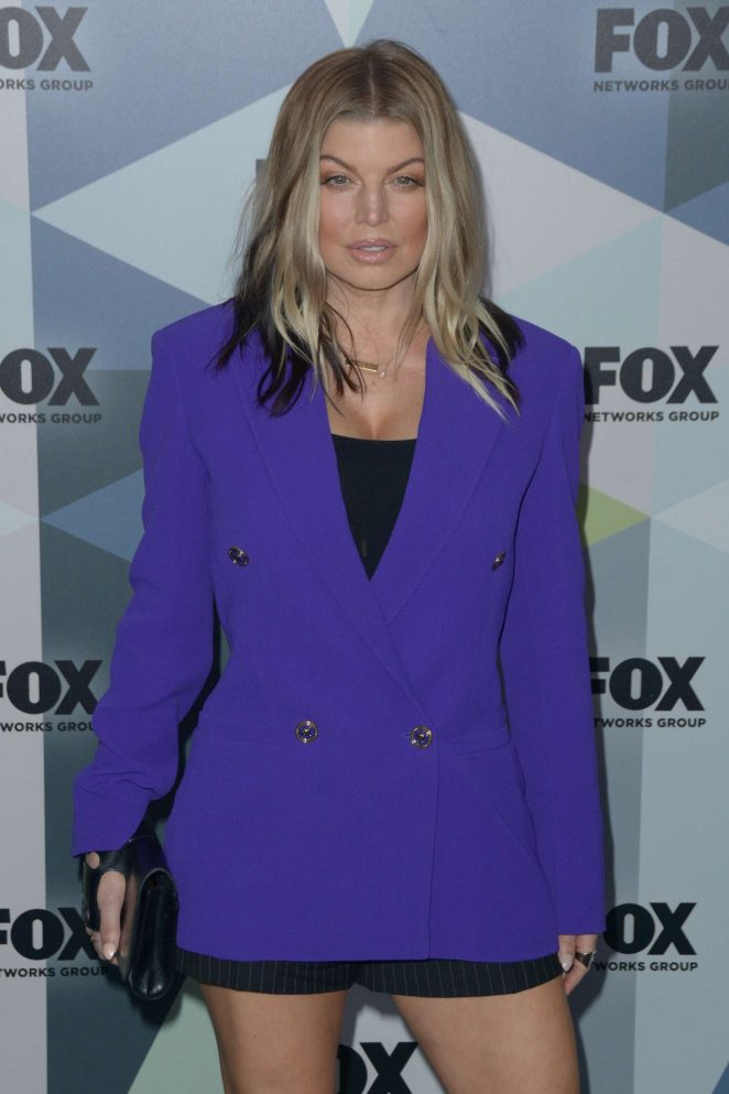 Fergie - 2018 Fox Network Upfront in NYC