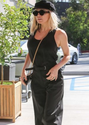 Fergie Arriving to a business meeting in Santa Monica