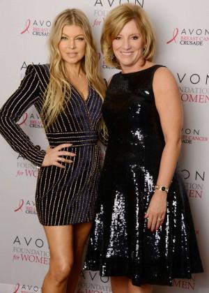 Fergie - Avon Breastcancer Crusade in New York