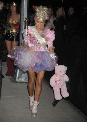 Fergie - Heidi Klum Halloween Party 2015 in NY