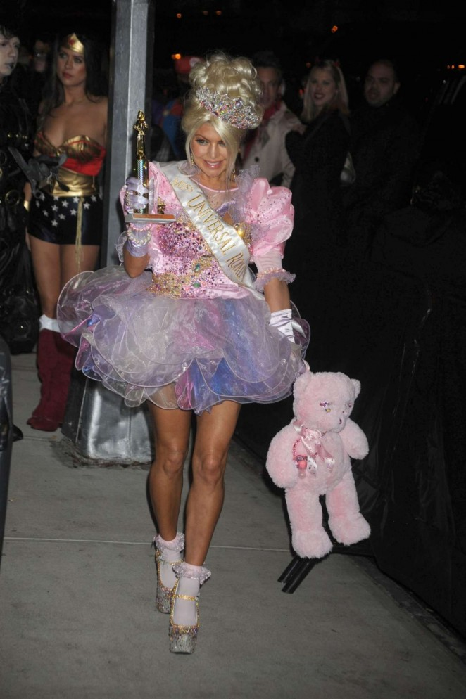 Fergie - Heidi Klum Halloween Party 2015 in NY