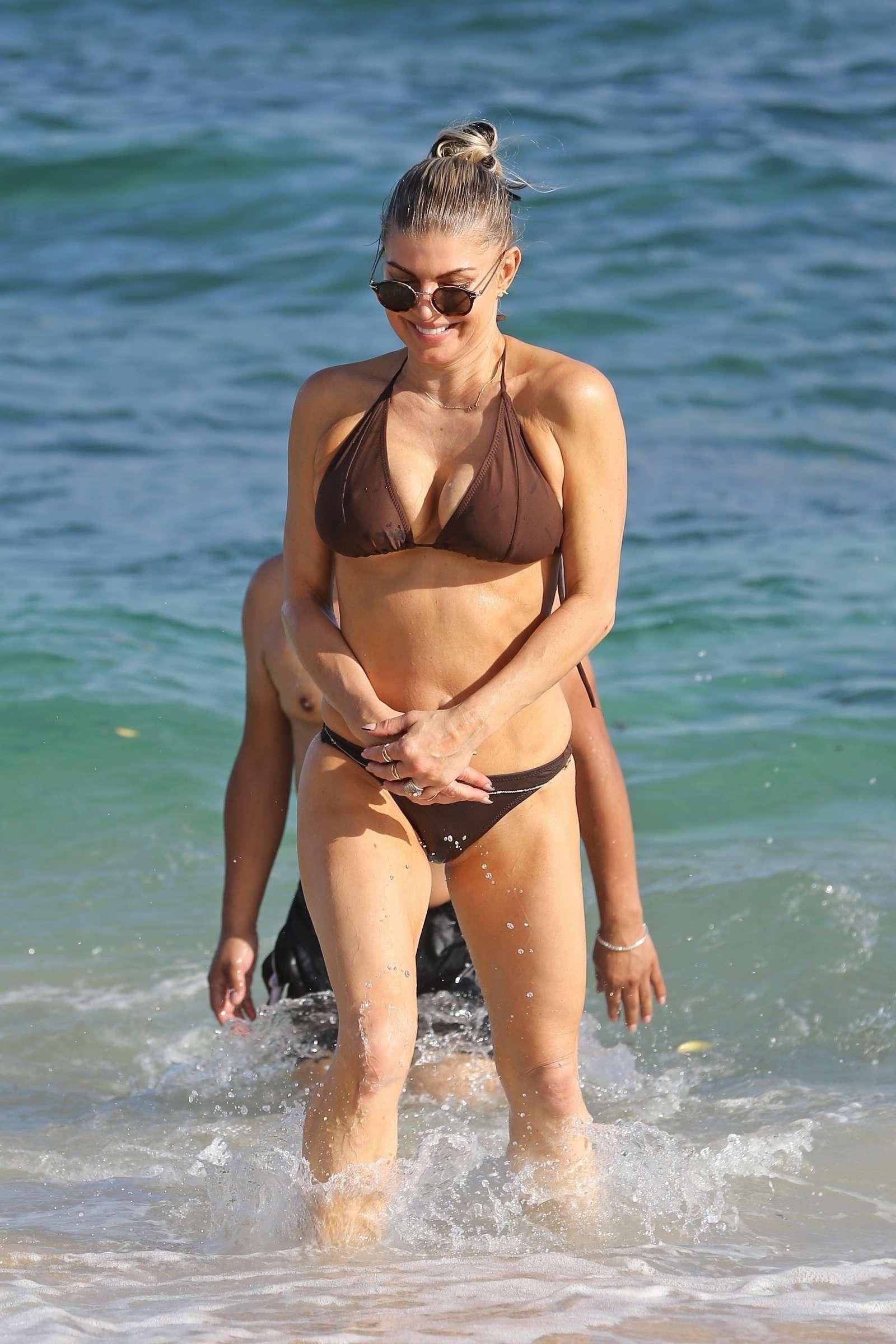 Stacy Ferguson Fergie Bikini