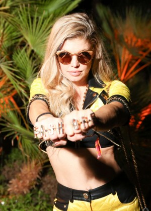Fergie: Jeremy Scott x Moschino The Coolest Party in The Desert -03