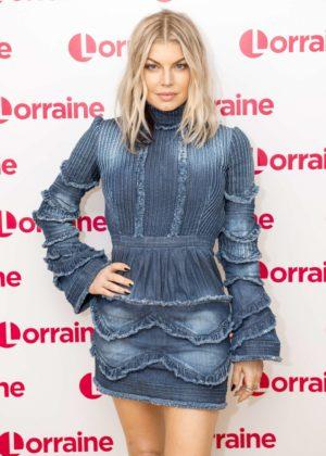 Fergie on 'Lorraine' TV Show in London