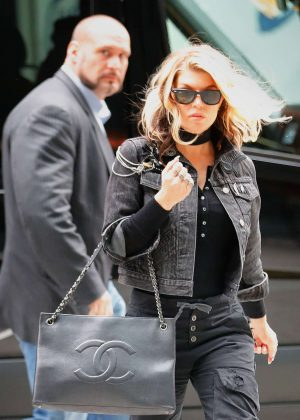 Fergie out and about in New York