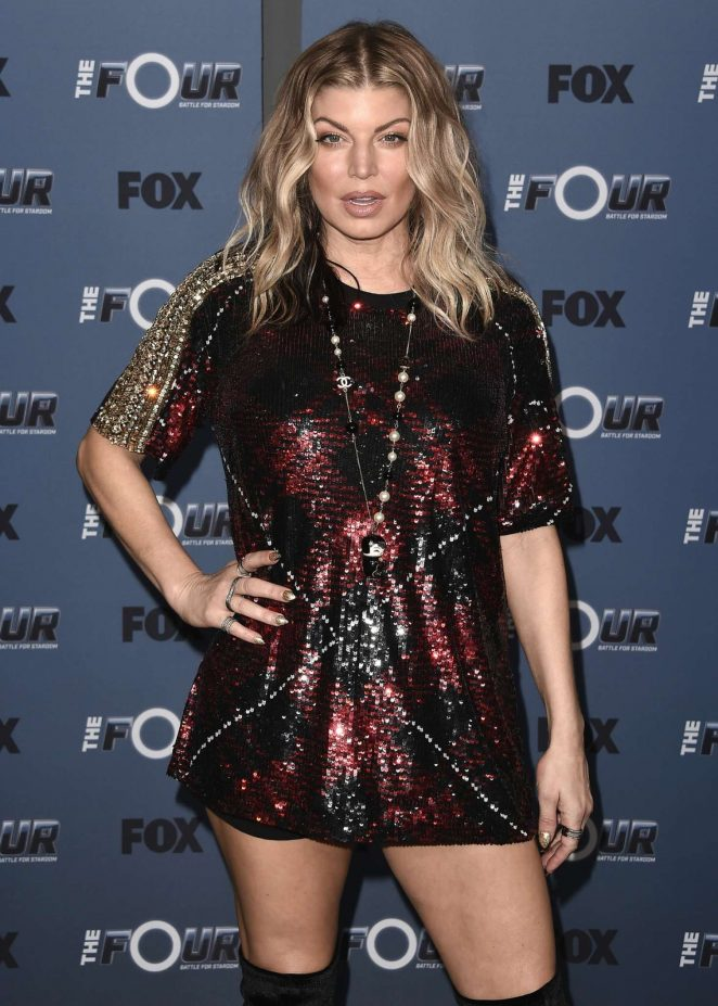 Fergie - The Four Battle for Stardom' TV Show Event in Los Angeles