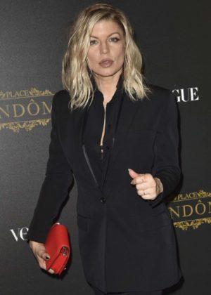 Fergie – Vogue Party in Paris