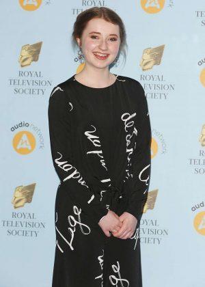 Fern Deacon - 2018 RTS Programme Awards in London