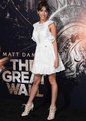 Fernanda Romero - 'The Great Wall' Premiere in Hollywood
