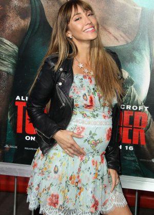 Fernanda Romero - 'Tomb Raider' Premiere in Hollywood