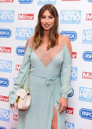 Ferne McCann - 2016 Daily Mirror and RSPCA Animal Hero Awards in London