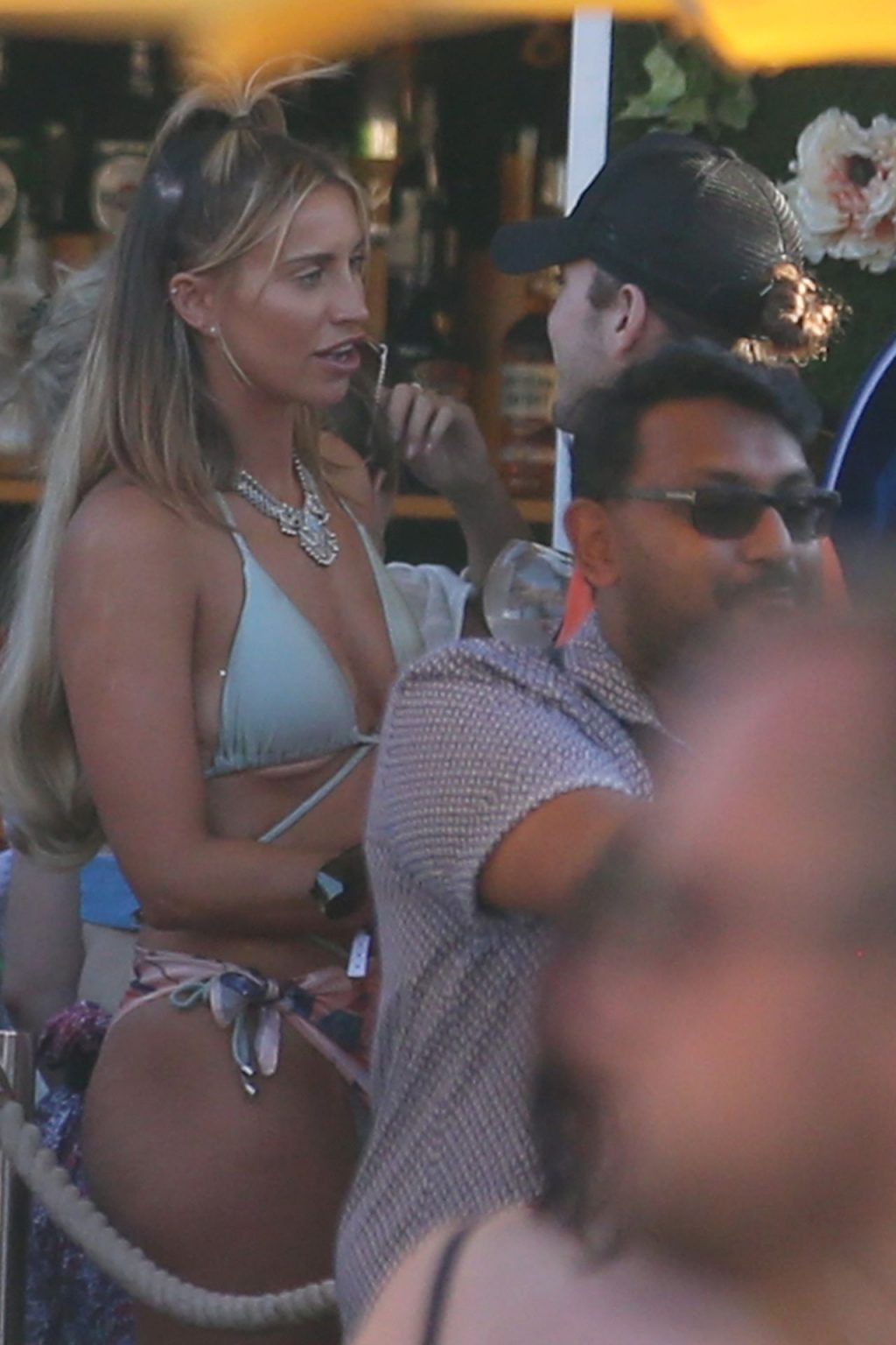 Ferne McCann 2019 : Ferne McCann and Danielle Armstrong  on vacation in Ibiza-02