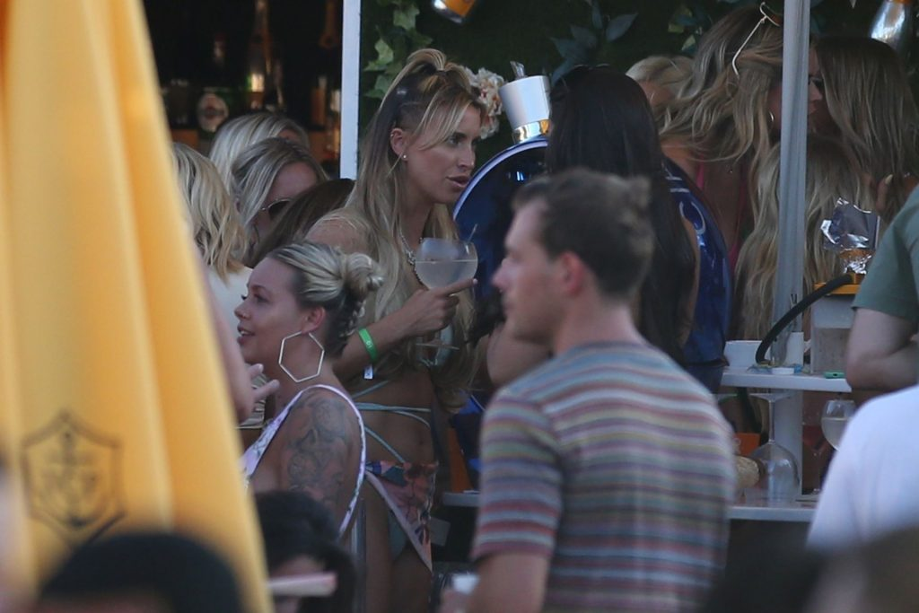 Ferne McCann 2019 : Ferne McCann and Danielle Armstrong  on vacation in Ibiza-13