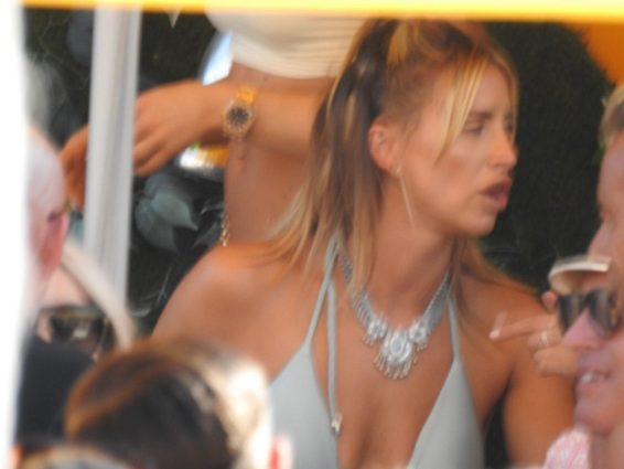 Ferne McCann 2019 : Ferne McCann and Danielle Armstrong  on vacation in Ibiza-25