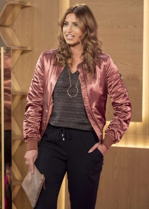 Ferne McCann at 'This Morning' TV Show in London