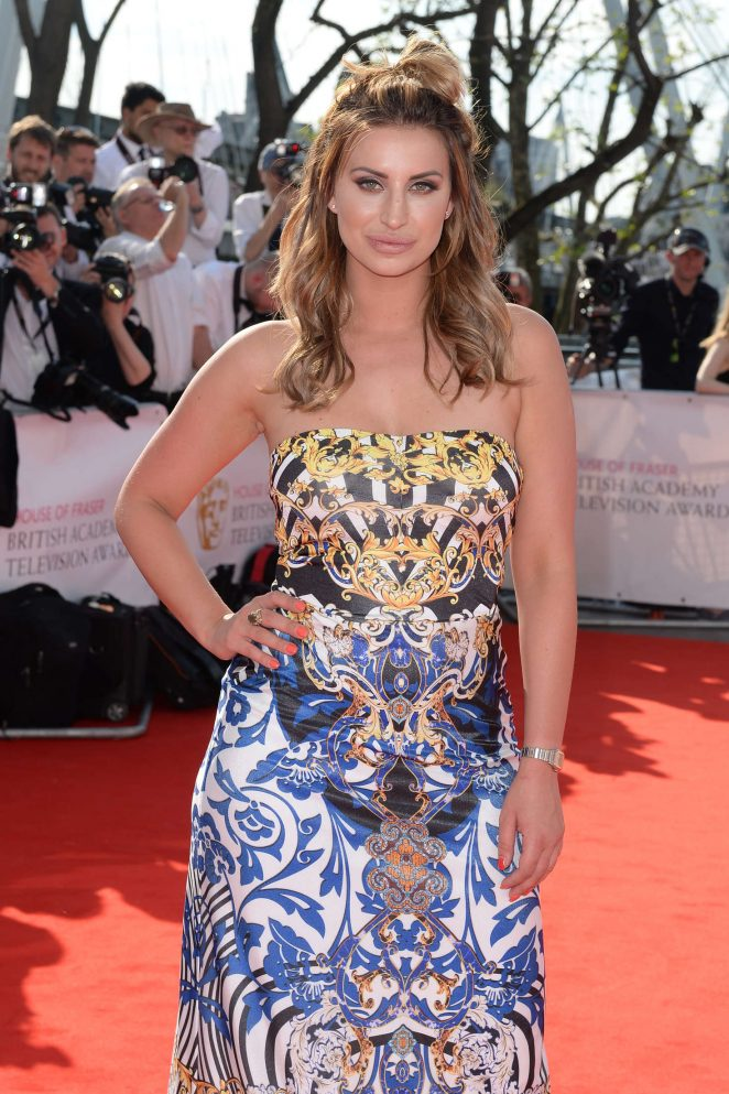 Ferne McCann - BAFTA TV Awards 2016 in London