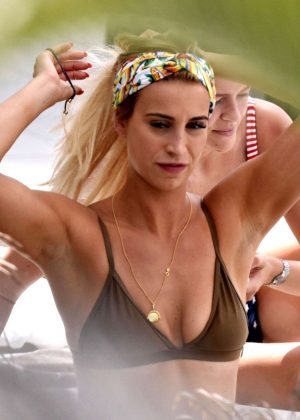 Ferne McCann in Bikini on holiday in Marbella
