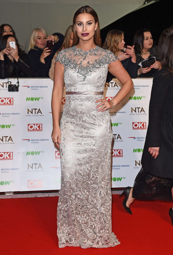 Ferne McCann - National Television Awards 2016 in London