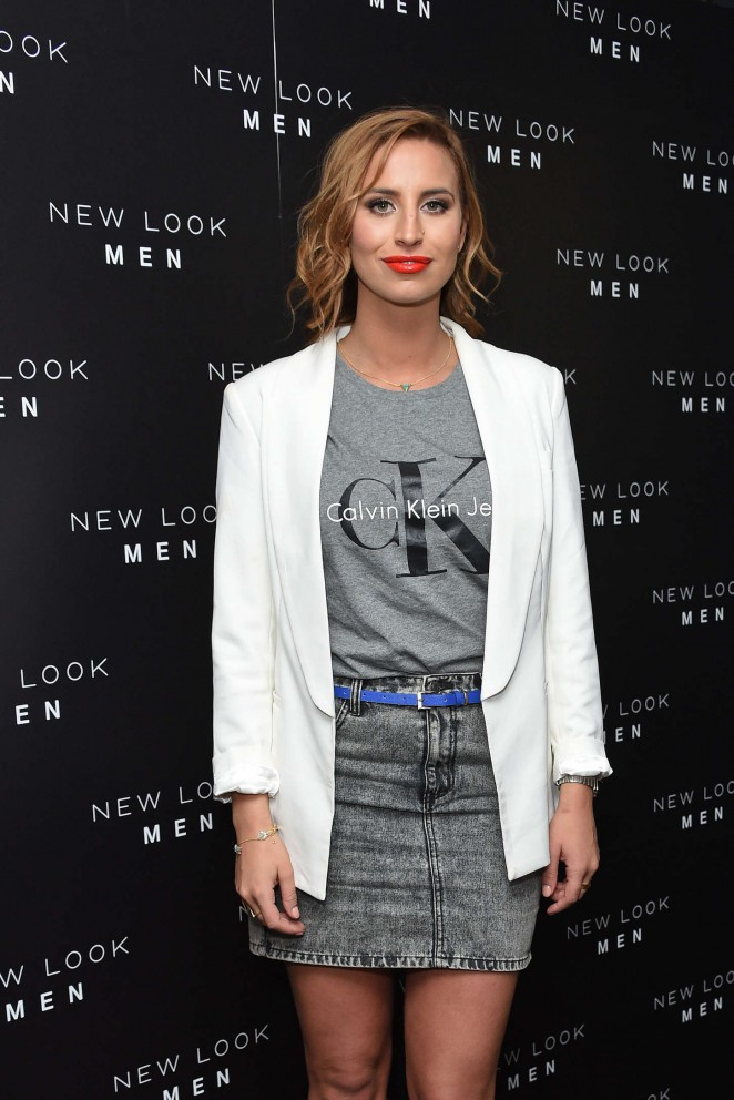 Ferne McCann - New Look Men Wireless Festival Launch Party in London