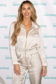 Ferne McCann - On This Morning TV Show in London