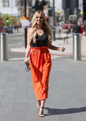 Ferne McCann - Promoting 'First Time Mum' TV Show in London