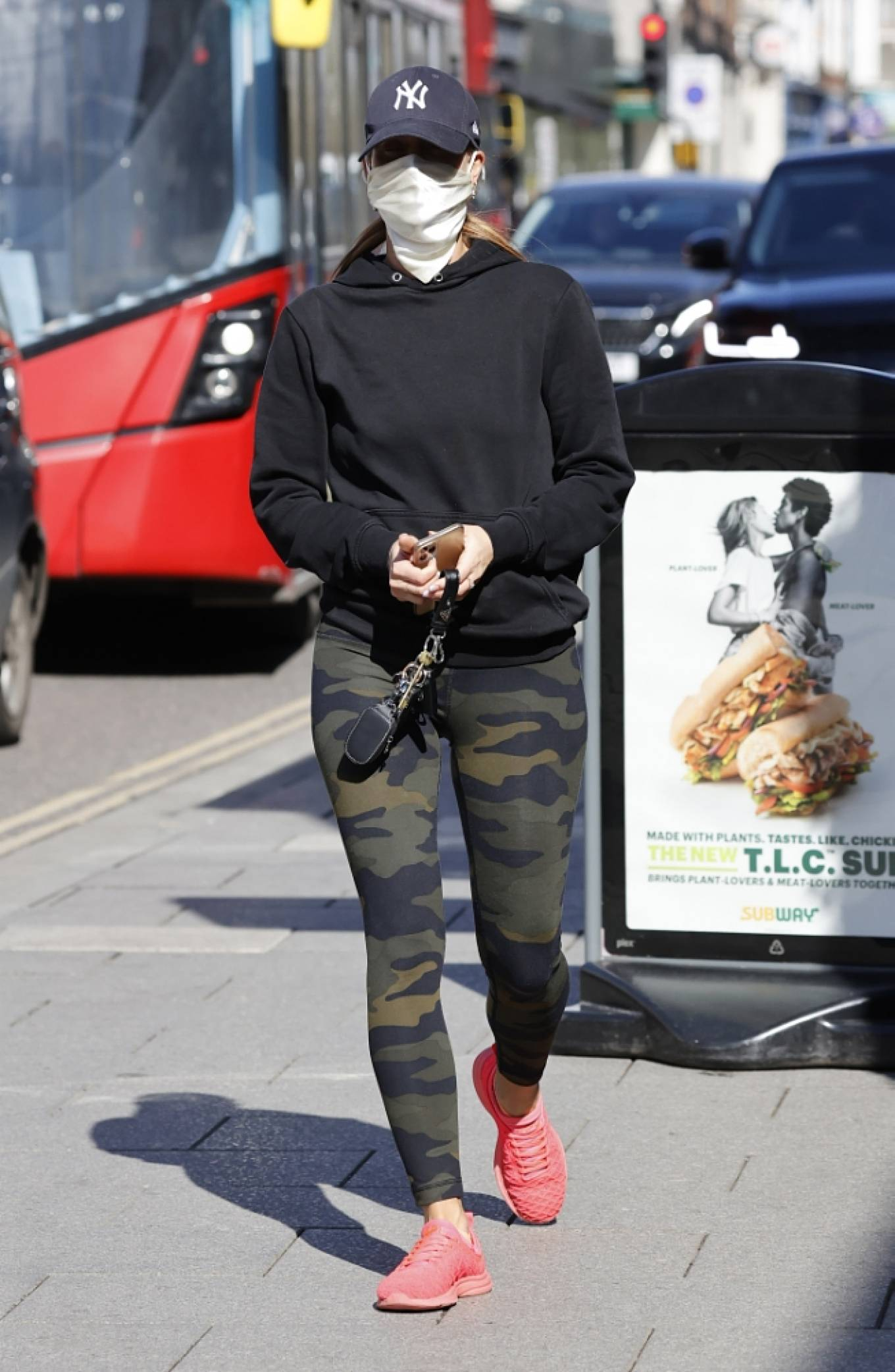 Ferne McCann 2021 : Ferne McCann – Spotted in camo leggings while leaving a nail salon in Essex-11